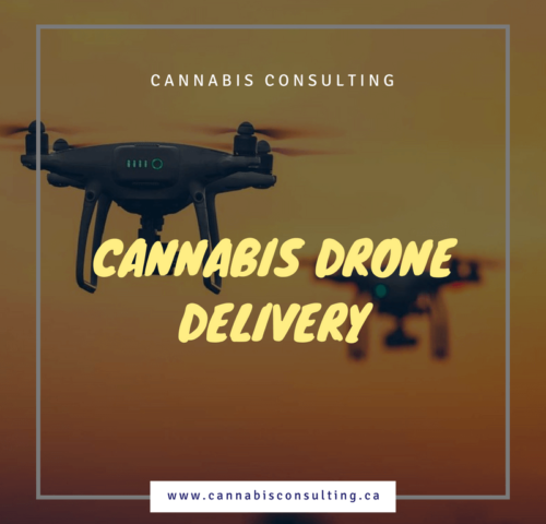 cannabis drone delivery