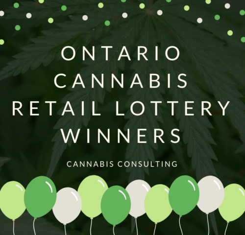 Ontario Cannabis Retail Lottery Winners